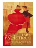 La Libre Esthetique Wandtattoo von Theodore Van Rysslebergh