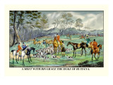 Meet with His Grace the Duke of Rutiana Wall Decal by Henry Thomas Alken