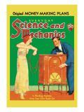 Everyday Science and Mechanics: A Shocking Machine from Your Own Radio Set Wall Decal