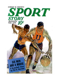 Sport Story Magazine: Six Men and a Mouse Wall Decal