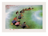 Spring Cultivation Wall Decal by Li Feng-lin