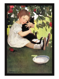 I Love Little Pussy Wall Decal by Jessie Willcox-Smith