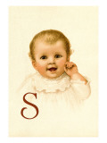 Baby Face S Wall Decal by Ida Waugh