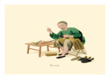 Shoemaker Wall Decal by George Henry Malon