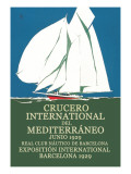 Crucero International del Mediterraneo Wall Decal