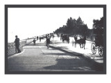 Lincoln Park, Lake Shore Drive Wall Decal by William Henry Jackson