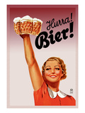 Harra! Bier! Wall Decal by  Gericault