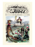 Judge: Stand-Off Wall Decal