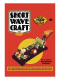 Short Wave Craft: How to Build the 804 Power Oscillator Wall Decal