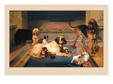 Domestic Scene Wall Decal by William Henry Hamilton Trood