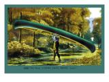 15 Foot 50 Lb. Model Canoe Wall Decal