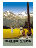 Palace Hotel St. Moritz Wall Decal
