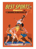 Best Sports Magazine: Basketball Wall Decal