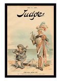 Judge Magazine: John Bull Backs Out Wall Decal by Victor
