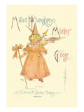 Maud Humphrey's Mother Goose Wall Decal by Maud Humphrey