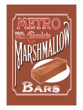 Metro Milk Chocolate Marshmallow Bars Wall Decal