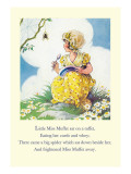 Little Miss Muffet Wall Decal