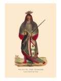 Wa-Na-Ta The Charger, Grand Chief of the Sioux Wall Decal