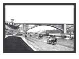 Washington Bridge and Speedway, New York City Wall Decal by William Henry Jackson