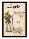 Judge Magazine: Decoration Day '89 Wall Decal
