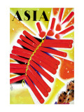 Chinese Fire Crackers Wall Decal by Frank Mcintosh