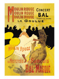 Moulin Rouge Concerts Wall Decal by Henri de Toulouse-Lautrec