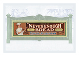 Never Enough Bread Wall Decal