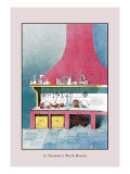 Chemist's Workbench Wall Decal by John Howard Appleton