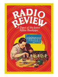 Radio Review: A Digest of the Latest Radio Hookups Wall Decal