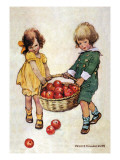 Helping Hands Wall Decal by Jessie Willcox-Smith