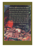 Marine's Poem Wall Decal by Cecil Calvert Beall
