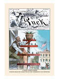 Puck Magazine: A Safe Conclusion Wall Decal by Eugene Zimmerman
