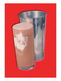 Chocolate Shake Wall Decal