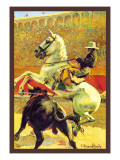 Cartel de Toros Sin Texto Wall Decal by Jerome Rogen
