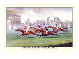 The Race for the Welter Stakes Wall Decal by Henry Thomas Alken
