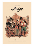 Judge: Three of a Kind Wall Decal