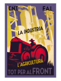 Industry and Agriculture for the Front Wall Decal by Carles Fontsere