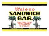 Waleco Sandwich Bar Wall Decal