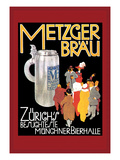 Metzger Blau Wall Decal