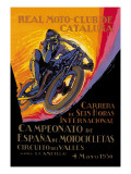 Real Motor Club of Cataluna, 6 Hour Race Wall Decal