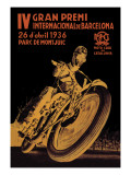 4th International Barcelona Grand Prix Wall Decal