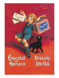 Chocolates from Monaco and Delta Biscuits Wall Decal by  Dorfi