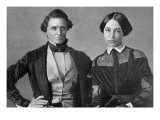 Jefferson Davis and His Wife Wall Decal