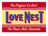 Love Nest Wall Decal