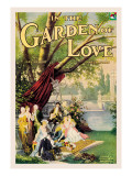In the Garden of Love Wall Decal