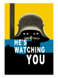 He's Watching You Wall Decal