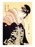 Love Letter Wall Decal by Kitagawa Utamaro