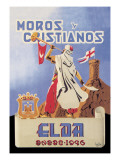 Moros Cristiquos Wall Decal by Juan Mira