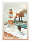 U.S. Navy: January Morning Wall Decal by Willy Stower