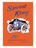 Speed King Wall Decal
